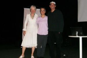 With Mardeene e Richard Krevolin - evento Write the World in BH
