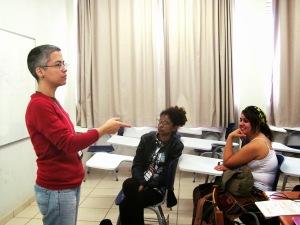 Oficina de dramaturgia para 15 alunos (FESTTO 2014 - Festival Nacional de Teatro de Teófilo Otoni)