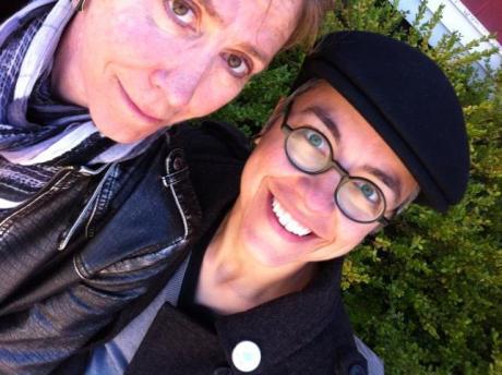 Com Jeanette Buck, dramaturga de Nova Iorque, autora da peça